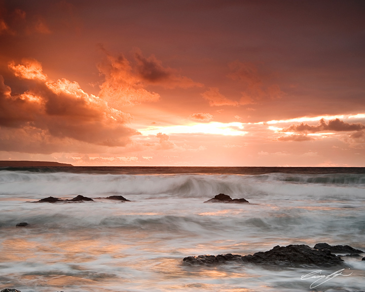 Sunset Dummond Strand, Sligo